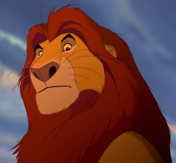 Mufasa photo in Lion King