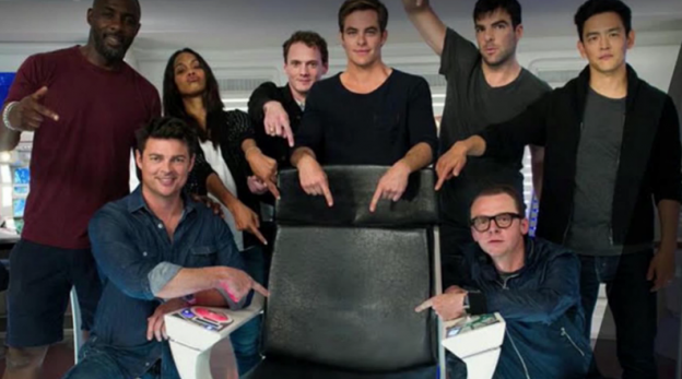 """Star Trek Beyond"" cast photo"