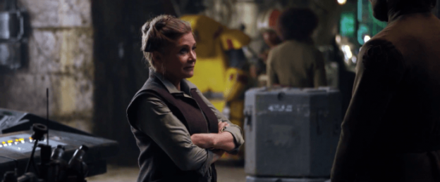 Star Wars Force Awakens Carrie Fisher Princess Leia