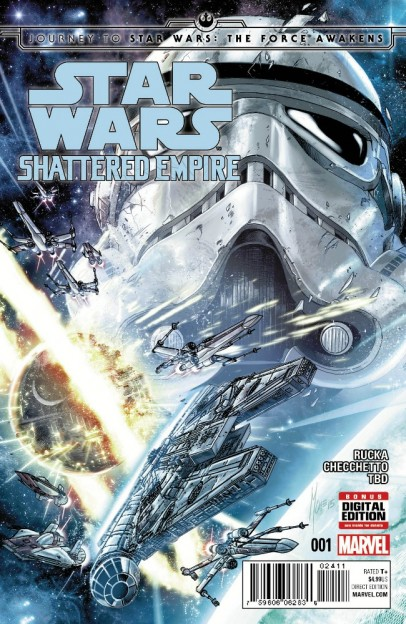 Star Wars Shattered Empire Variant comic book