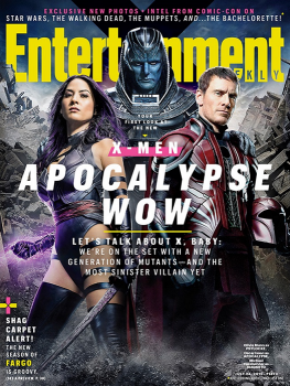 X-Men Apocalypse EW cover Olivia Munn Michael Fassbender Oscar Isaac