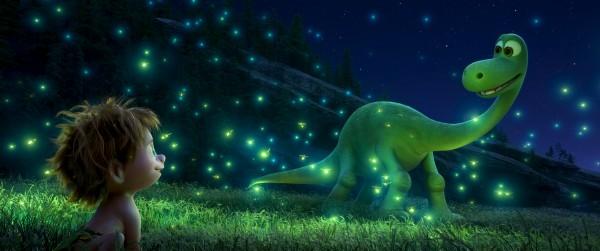 good-dinosaur-pixar-arlo field of lightning bugs