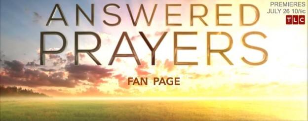 Answered Prayers banner