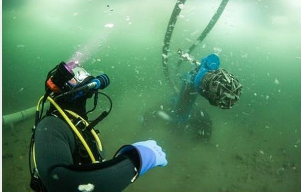 Bering Sea Gold seaosn 5 underwater gold mining photo