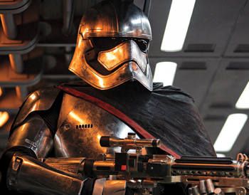 Captain Phasma Gwendoline Christie Star Wars the Force Awakens