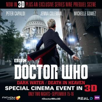 Doctor Who season 8 3d Fathom event