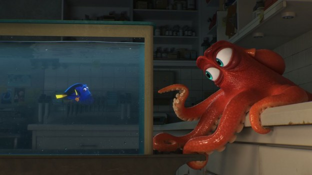 Dory meeting Hank