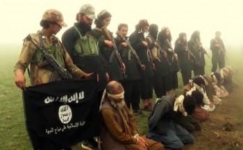 screenshot of ISIS video