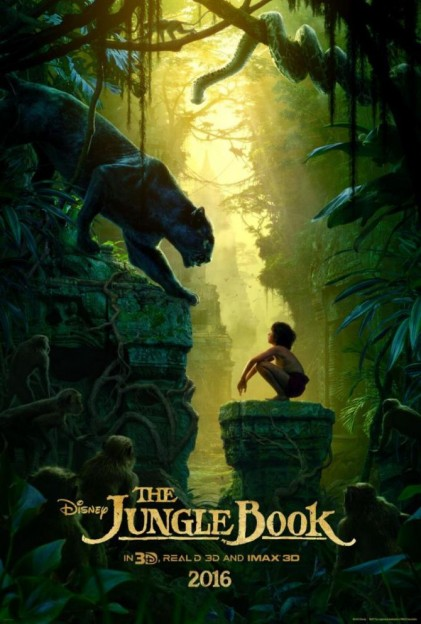 Jungle Book 2016 movie poster