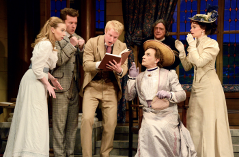 """Cast photo from """"The Importance of Being Earnest"""" photo Nobby Clark, courtesy of Fathom Events"""