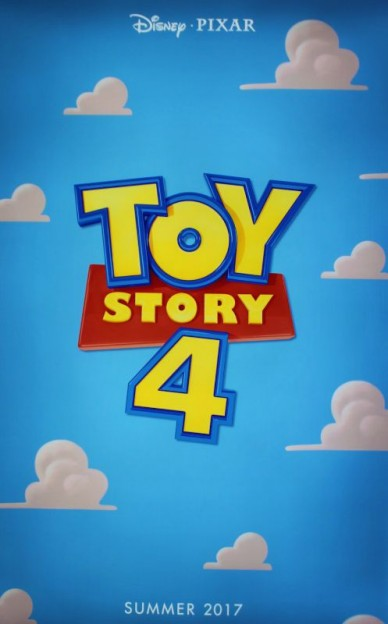 "The ""Toy Story 4"" movie poster unveiled as the D23 Expo"