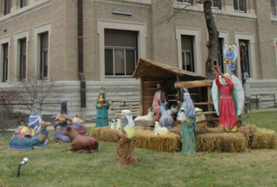 Franklin, Indiana nativity photo/screenshot video coverage