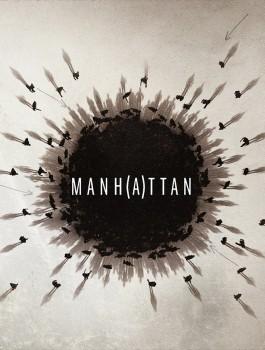 Manhattan atomic bomb blast key art