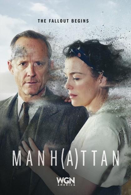 Manhattan season 2 key art John Benjamin Hickey Frank Winter Olivia Williams Liza Winter