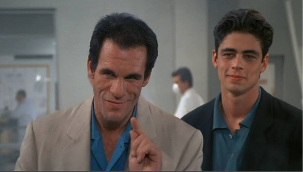 """Robert Davi as Sanchez in """"License to Kill"""""""
