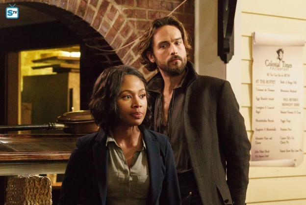 Sleepy Hollow season 3 Nicole Beharie as Abbie Mills Tom Mison as Ichabod Crane