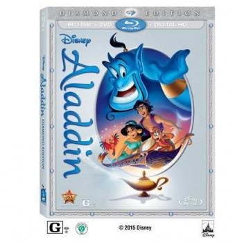 Aladdin Diamond Edition Bluray DVD set