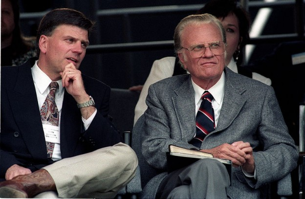Franklin and Billy Graham photo Paul M Walsh