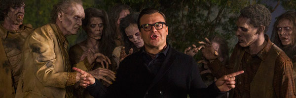 goosebumps-movie-jack-black-surrounded by zombies goons