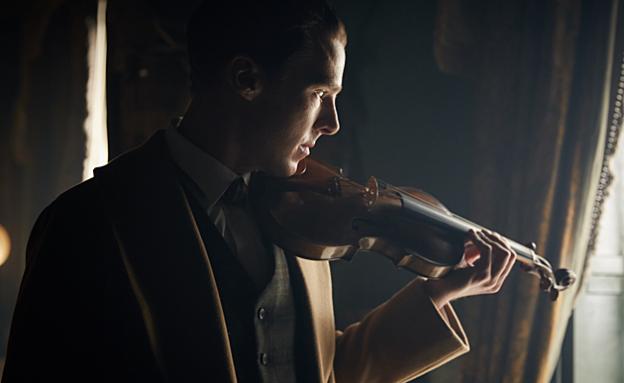sherlock Benedict Cumberbatch violin