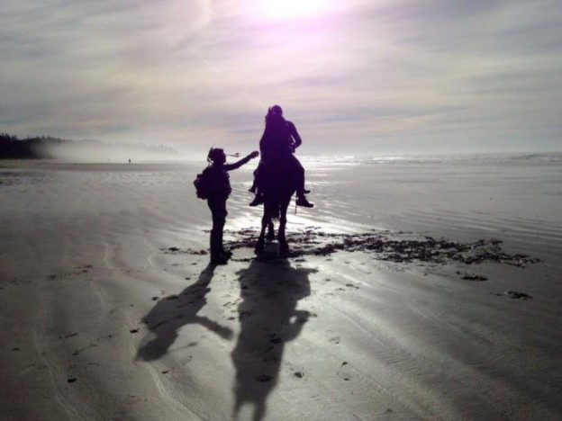 war of the planet of the apes-beach photo