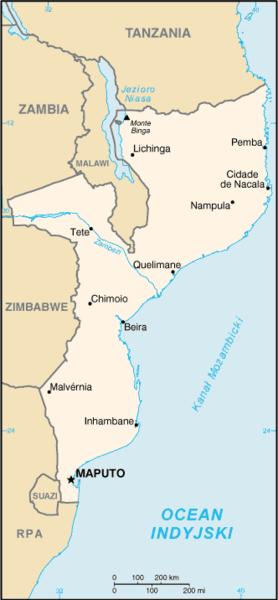 Mozambique/CIA