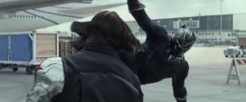 Captain America Civil War cast photo Black Panther attack winter soldier