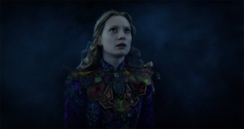 Mia Wasikowska as Alice  in Alice Through the Looking Glass photo