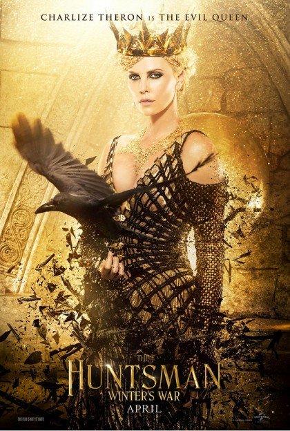 huntsman-winters war poster-charlize theron as queen
