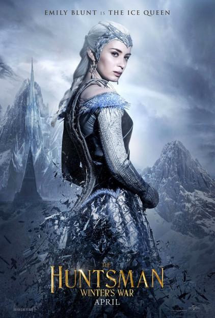 huntsman-winters war poster-emily blunt ice queen
