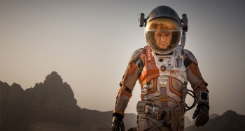 martian photo Matt Damon in space suit