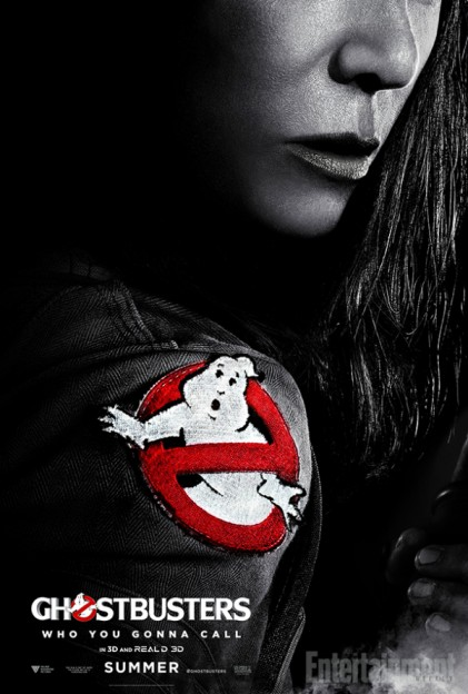 Kristen Wiig as Erin Gilbert Ghostbusters movie poster