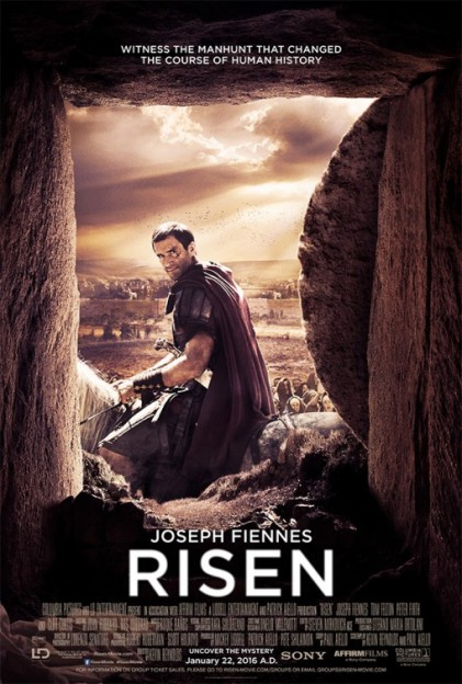 Risen movie poster Joseph Fiennes