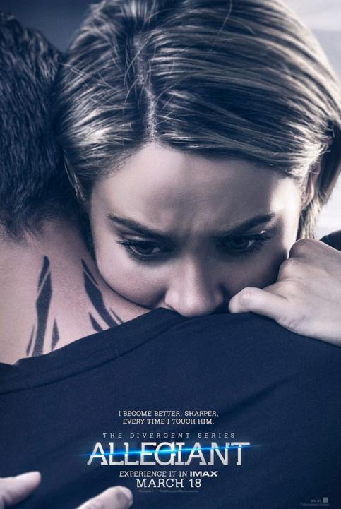 Shailene Woodley Divergent Series Allegiant poster
