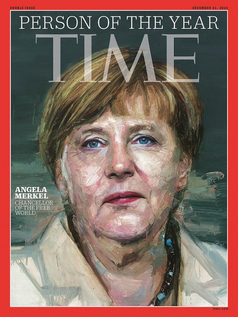 TIME person of the year 2015 Angela merkle