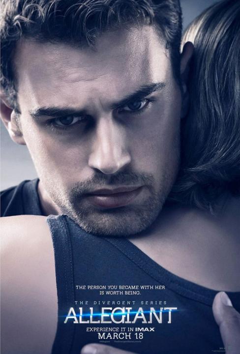 Theo James Divergent Series Allegiant poster
