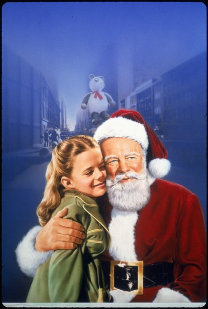miracle on 34th street banner poster