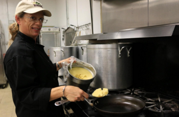 Chef Ann of Paleo on the Go is preparing food for the upcoming Holiday Meal donation set to take place on Saturday December 12, 2015 in Clearwater, FL. Photo Credit:Paleoontehgo.com