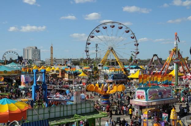 2015 Florida State Fair Midway