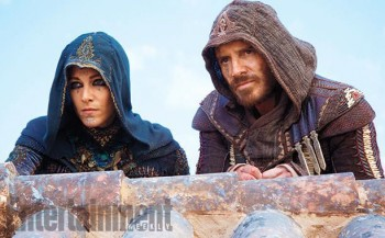 Ariane Labed Michael Fassbender Assassins Creed photo
