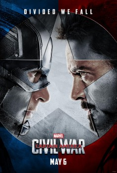 Captain America Civil War poster face to face