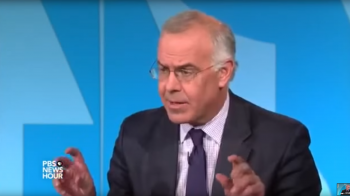 "David Brooks on PBS, discussing the ""satanic tone"" of Ted Cruz"