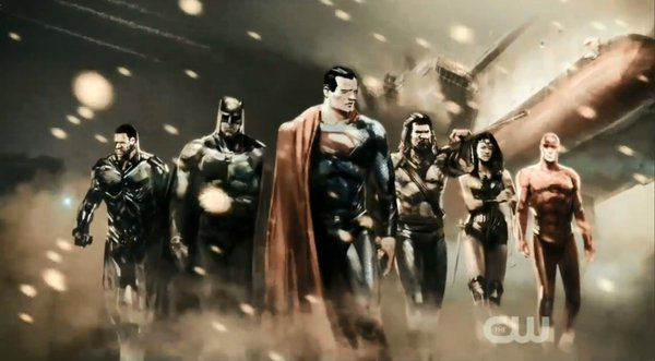 Justice League concept art Cyborg batman superman wonder woman, aquaman flash