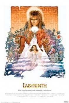 Labyrinth movie poster David Bowie