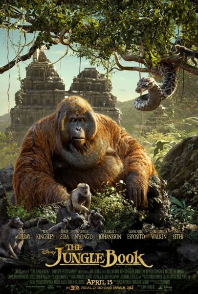 jungle-book-poster-king louie Kaa disney