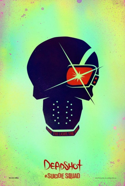 suicide_squad_Deadshot skull movie poster