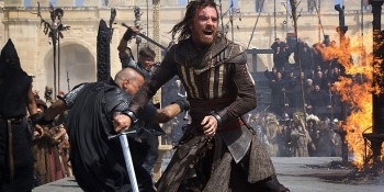 "Michael Fassbender compares ""Assassin's Creed"" to ""The Matrix"""
