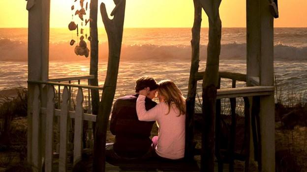 Ben Walker Teresa Palmer the Choice photo romantic beach banner photo