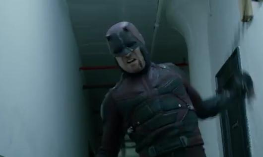 Daredevil season 2 Charlie Cox armor daredevil suit