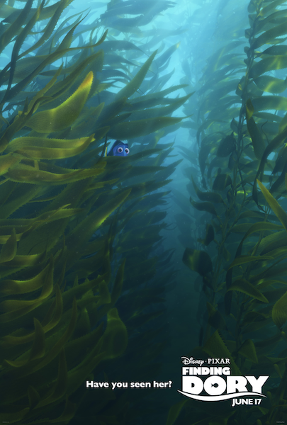 Finding Dory have you seen her sea weed movie poster